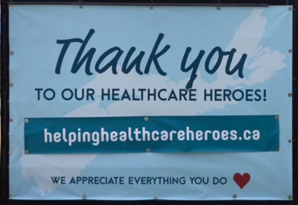 Listen to this : My way of saying thank you to the Health Care Workers of the world. They risk their lives so others may live . Their is no greater love then this.