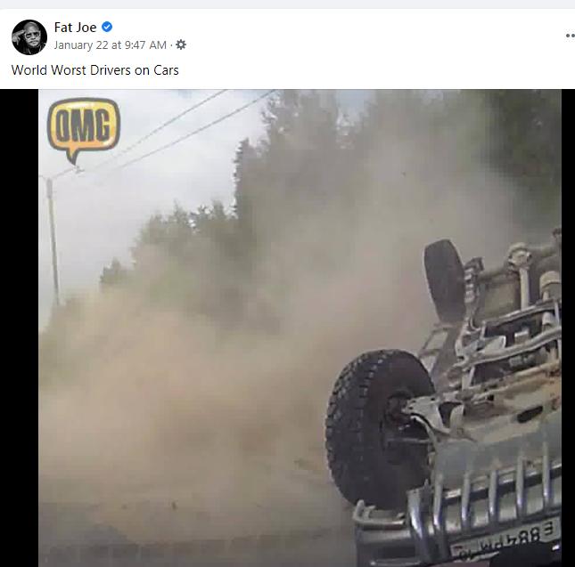 Words Worst Drivers ~ Thanks Fat Joe ~!