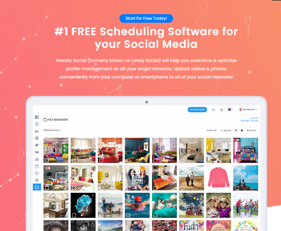 #1 FREE Scheduling Software for your Social Media