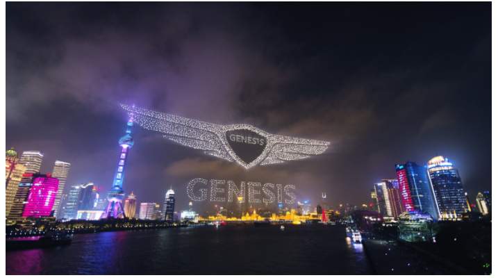 Watch Over 3,000 Drones Fly Together for the Best Car Commercial Yet