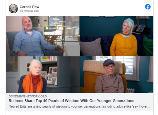 Retirees Share Top 40 Pearls of Wisdom With Our Younger Generations check #36