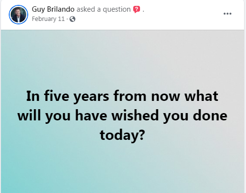 Guy, you got me thinking today !! thanks