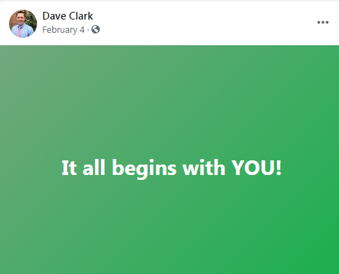 Thanks Dave, Post like this keep me going....