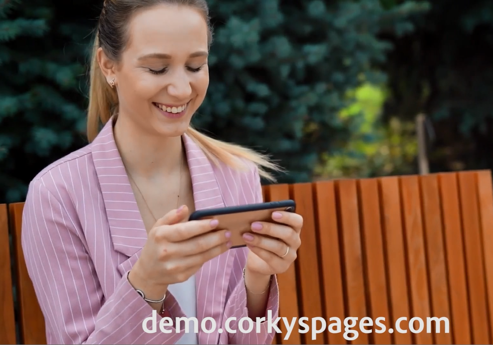 tip #10 ~Websites that blog are shown to have 434% more indexed pages. Do, do a demo..... demo.corkyspages.com