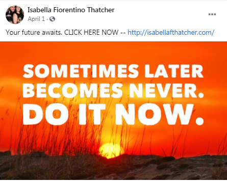 Isabella, thanks for your encouraging thoughts !