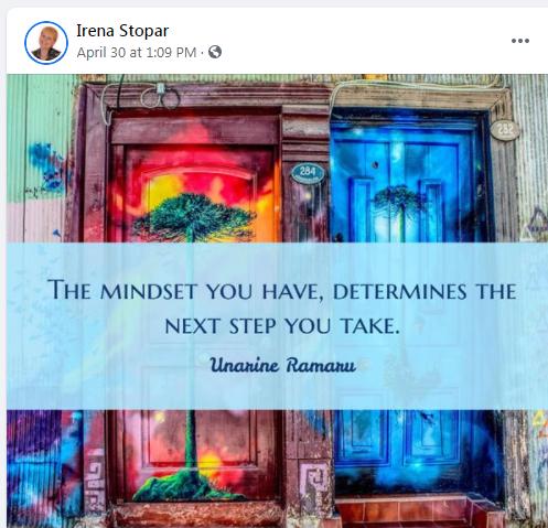 Love your posts Irena....