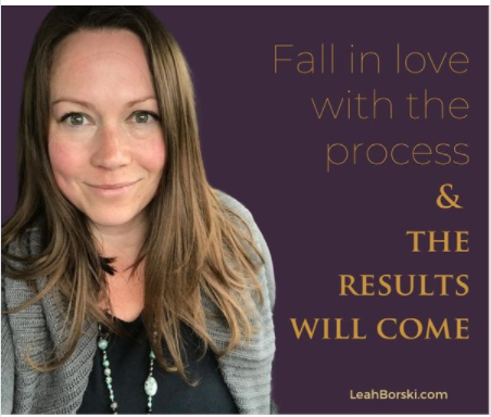 time to fall in love ~ from Leah