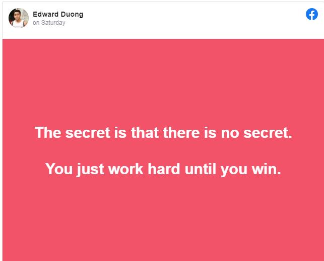 SECRETS FROM EDWARD!