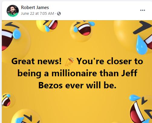 thanks to: Robert James(No Job Rob)