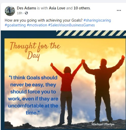 thought for the day / des adams