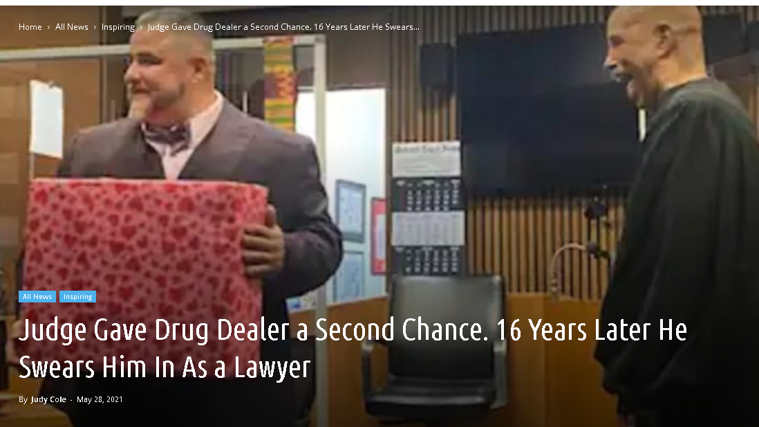 Judge Gave Drug Dealer a Second Chance. 16 Years Later
