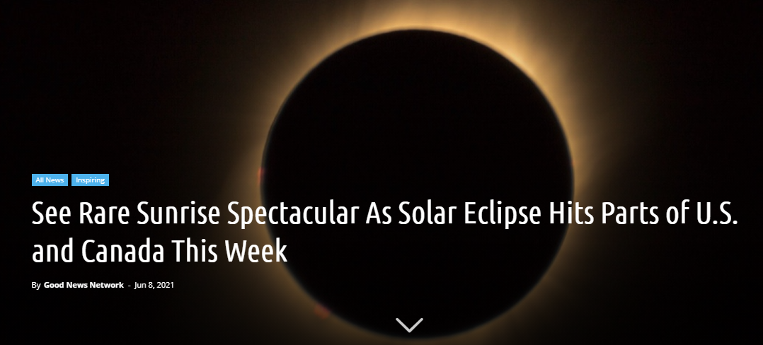See Rare Sunrise Spectacular As Solar Eclipse Hits Parts of....