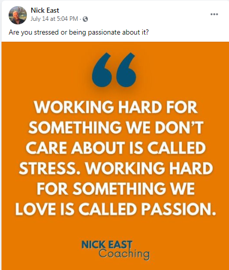 Want to Share your passion ? thanks NIck