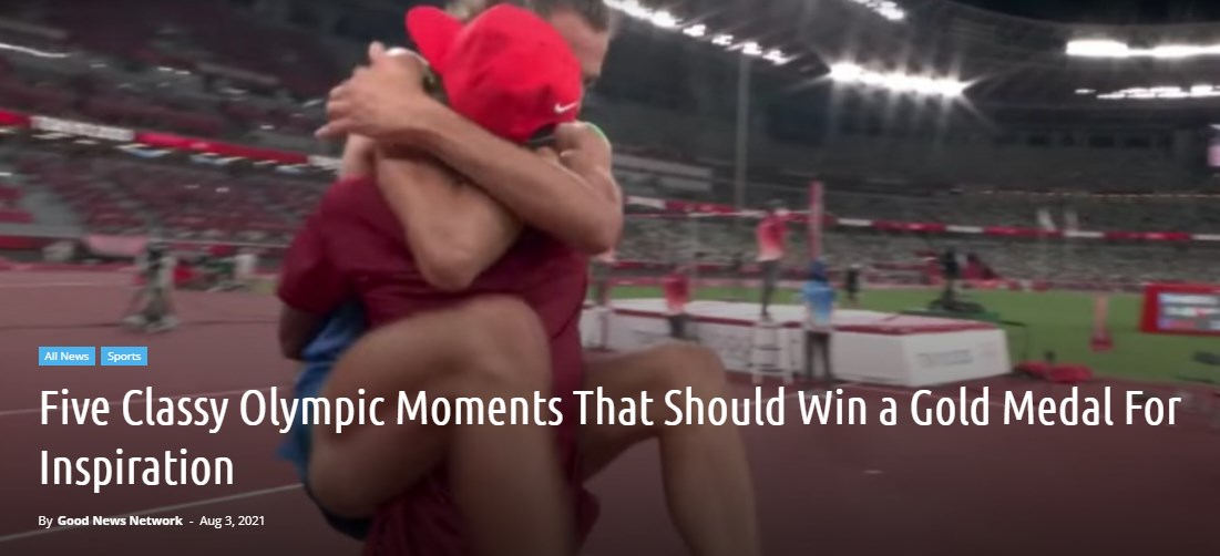 Five Classy Olympic Moments That Should Win a Gold Medal For Inspiration