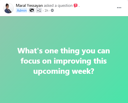 That is a good question ! thanks Maral