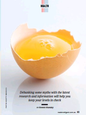 the new truth about cholesterol...