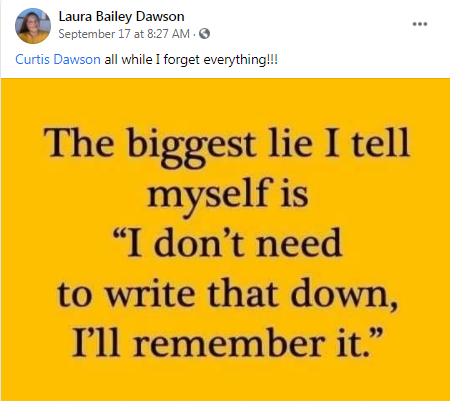 this is me ! thanks for reminding me, Laura and Curtis dawson !!