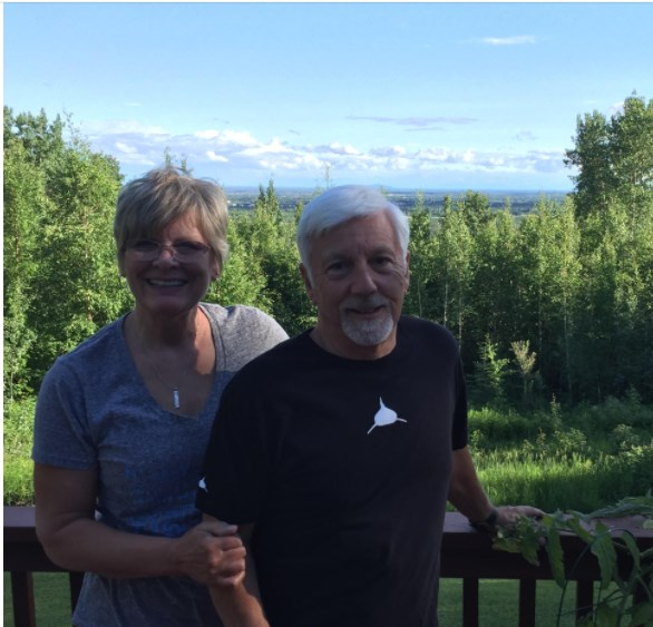 Here is gale and I in fairbanks alaska