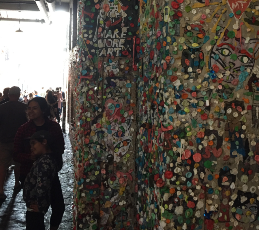 Been to the gum wall in seattle ?