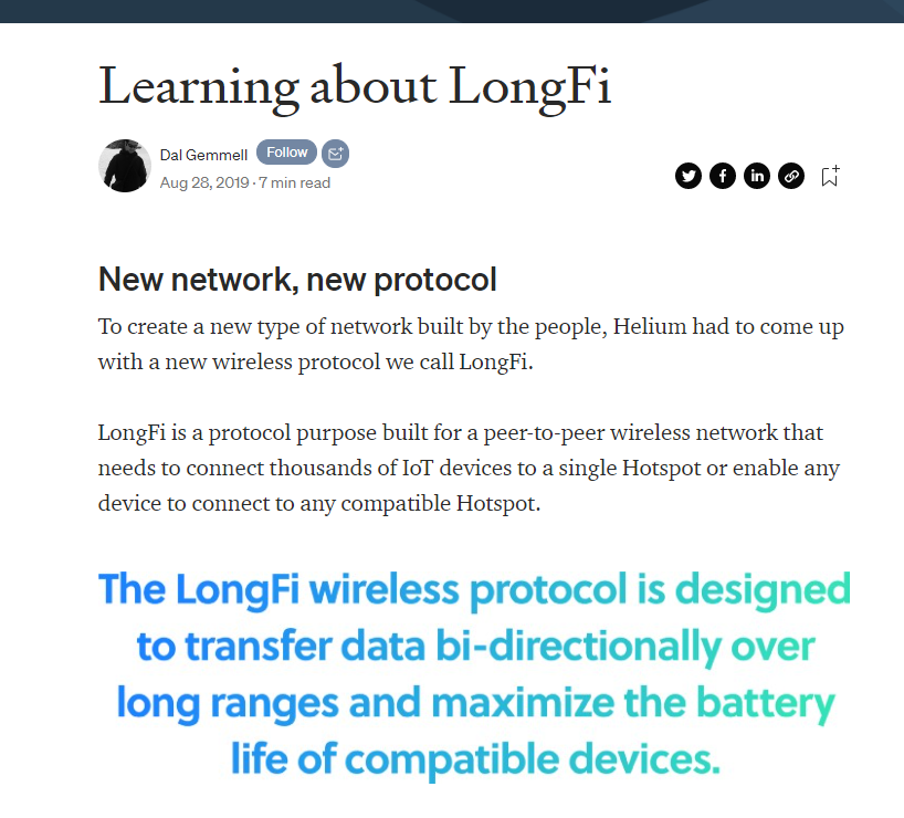 Learning about Longfi . . . .