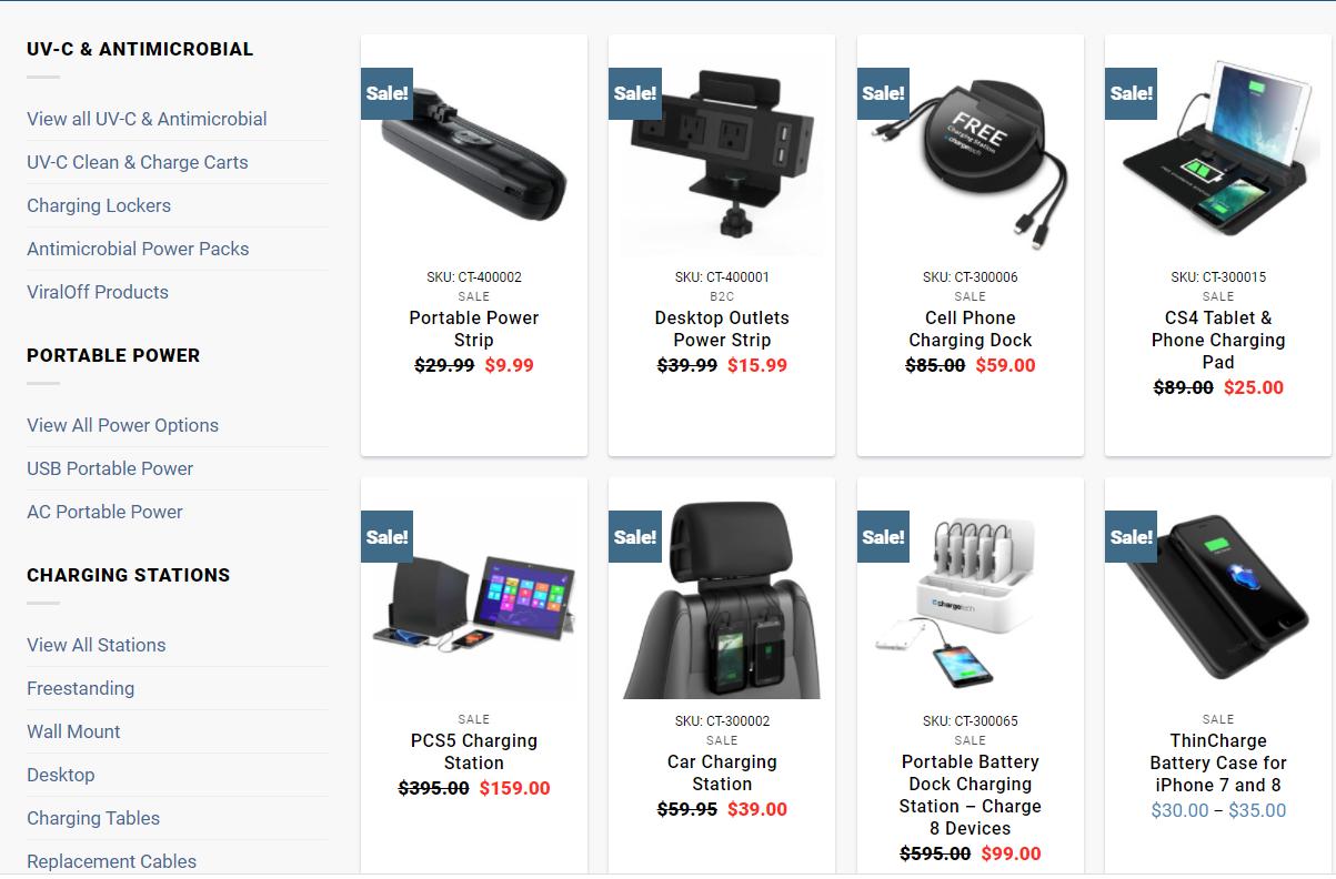 ChargeTech | Sale Archive Portable Power